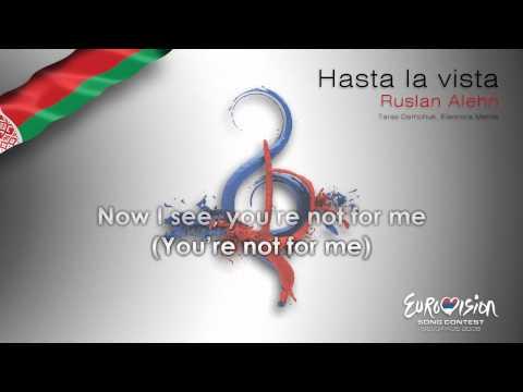 "Ruslan Alehn - ""Hasta La Vista"" (Belarus) - [Karaoke version]"