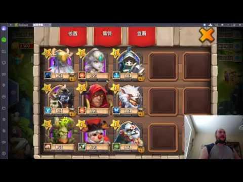 Castle Clash - Rolling Gems On Taiwan Server - Part 1