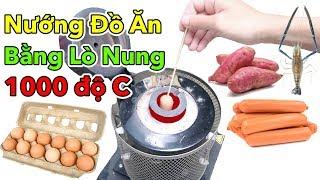 Lâm Vlog - Thử Nướng Tất Cả Mọi Thứ Bằng Máy Nấu Kim Loại Nóng 1000 Độ C