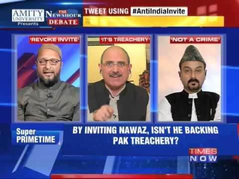 The Newshour Debate: Shahi Imam's Anti India Invite - Part 2 (30th Oct 2014)
