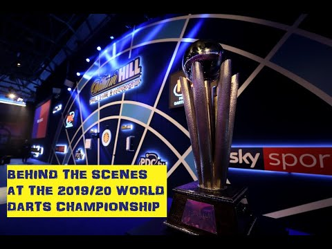 Behind the scenes at the 2019/20 William Hill World Darts Championship