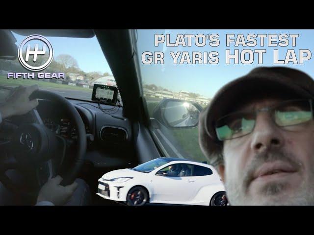 Plato's FASTEST GR Yaris Hot Lap | Fifth Gear