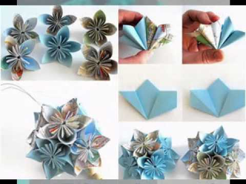Creative diy paper wedding decor ideas youtube for Decorative flowers for crafts