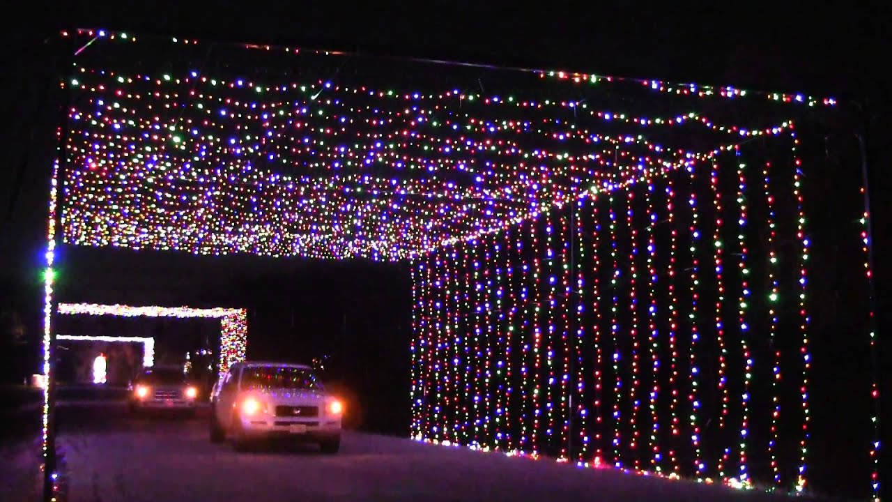 Prairie Lights Opens Its Two Mile Drive Through Christmas Light