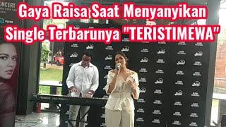 Gambar cover TERISTIMEWA, Single Terbaru Raisa