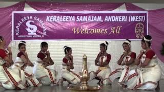Chingappoo Chithirapoo ::: Onam 2014 ::: Keraleeya Samajam, Andheri (West)