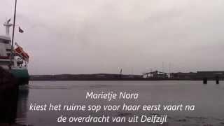 Marietje Nora opgeleverd aan Danser van Gent uit Delfzijl