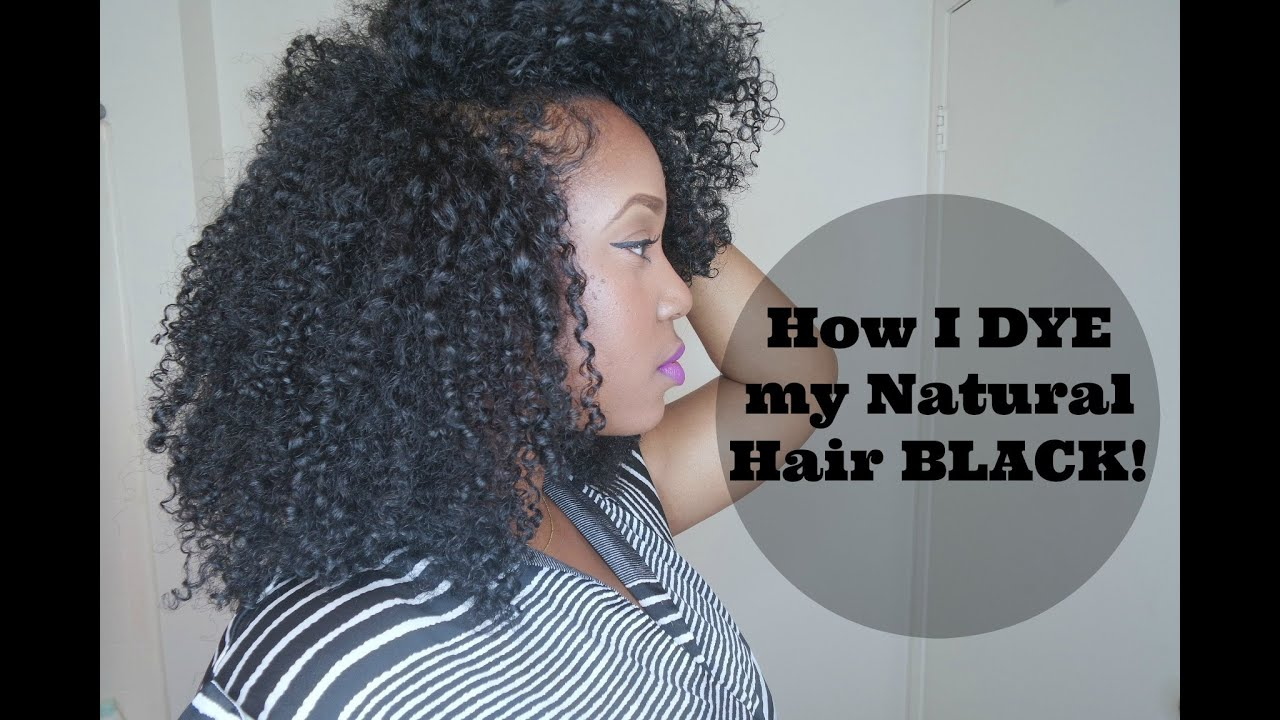 How I Dye My Natural Hair Using Clairol Textures Tones Youtube