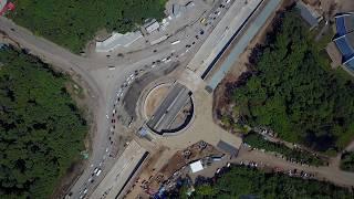 Реконструкция Ракитовское шоссе и Московское шоссе 15.07.2017 4K