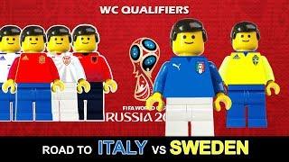 Aspettando Svezia Italia • Road to Sweden vs Italy • World Cup 2018 Qualifiers • Lego Football Film