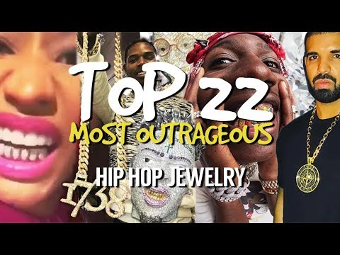 Top 22 Most OUTRAGEOUS Hip Hop Jewelry!!!