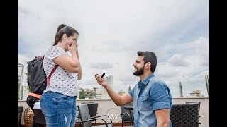 Pedido de Casamento nas Alturas - Ramada Encore Virgínia Luxemburgo