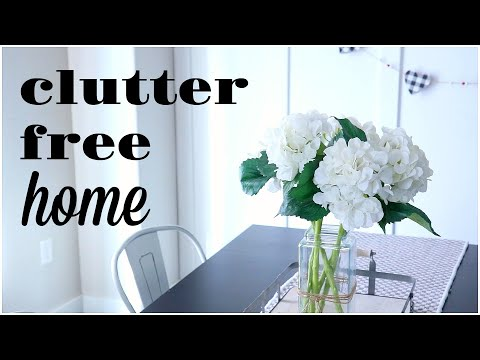 TIPS FOR A CLUTTER FREE HOME| DECLUTTERING| MINIMALISM