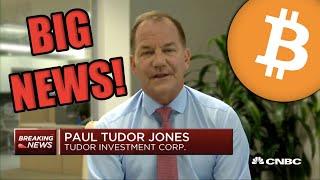 Billionaire Investor JUST WENT ROGUE! Paul Tudor Jones PUMPS Bitcoin as Best Investment in 2020