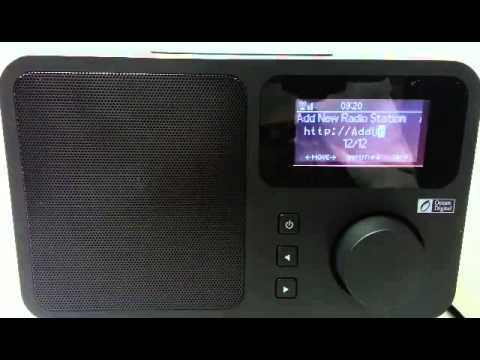 How to Add URLs on your WR-230 Internet Radio