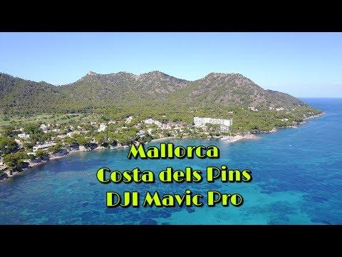 Mallorca Costa dels Pins - Costa de los Pinos DJI Mavic