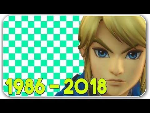 The Evolution Of The Legend Of Zelda Games (1986 - 2018)