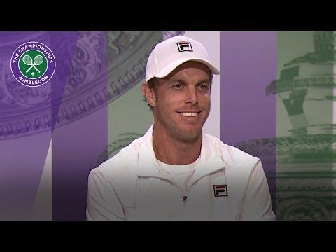 Sam Querrey Wimbledon 2017 quarter-final press conference