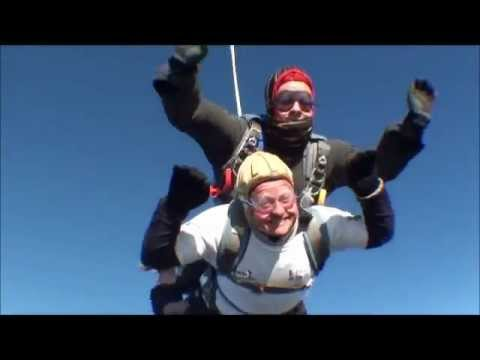 Help For Heroes Charity Tandem Skydive 11.11.12 North London Parachute Centre 10,000 feet
