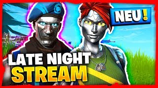 🔴 LATE NIGHT STREAM avec NEW SKINS 😊🏆 Fortnite BattleRoyale LIVE (anglais)
