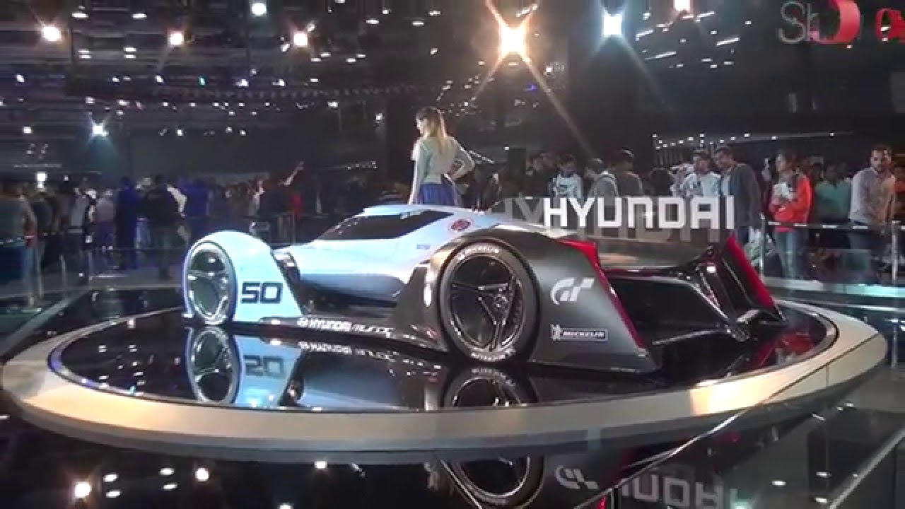 Auto Expo The Mega Car Show Jaguar Audi BMW Hyundai Cars - Hyundai car show