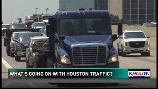 What's going on with Houston traffic?
