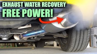 Using Exhaust Water To Make More Horsepower!