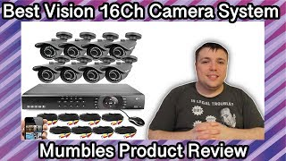 Best Vision 16CH 4-in-1 HD DVR Security Camera System - Mumbles Product Review