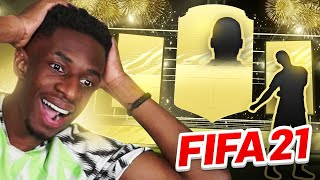 MY FIRST FIFA 21 PACK OPENING!!!