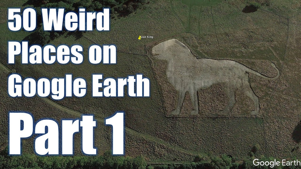 50 Weird places on Google Earth with coordinates - Part 1