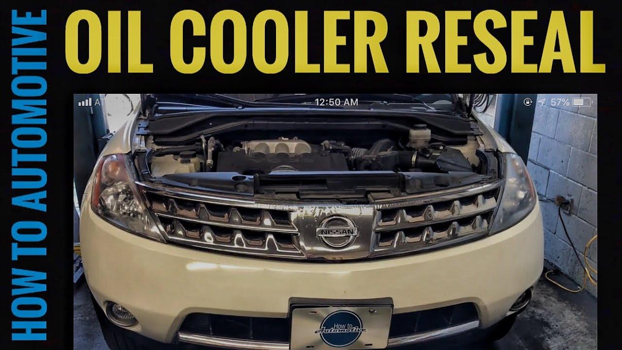 Nissan Rogue Service Manual: Oil cooler