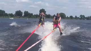 Mathijs & Robin kruizen - teamuitje VV Zuidwolde 2018