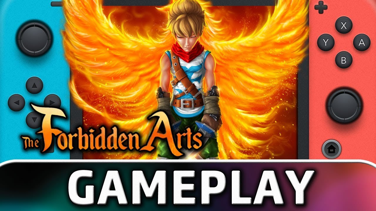 The Forbidden Arts   First 10 Minutes on Nintendo Switch