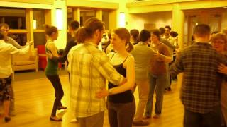 First Introductory Spring Term 2013 Tango Class at Dartmouth College