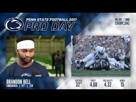 Penn State Pro Day: Brandon Bell