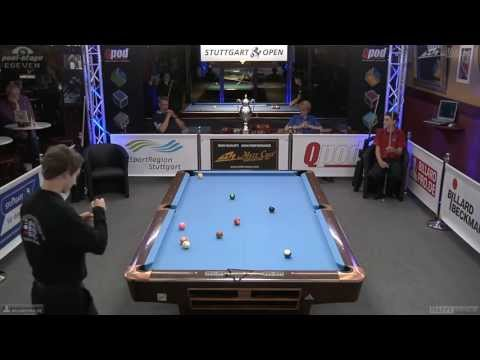 Regio-Cup 2013, 01 Rathmann-Buchstab, 10-Ball, Pool-Billard, Cue Sports