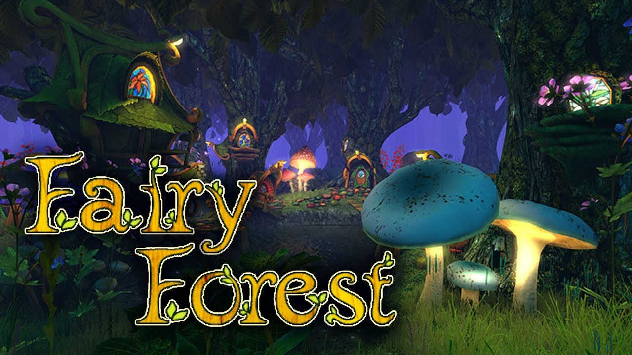 Adventure 3d Screensavers Fairy Forest A Magical Fairy Town In A Mysterious Forest