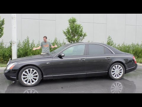 Here's Why the Maybach 57S Has Lost $300,000 in Value Over 10 Years