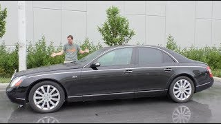 Here\'s Why the Maybach 57S Has Lost $300,000 in Value Over 10 Years
