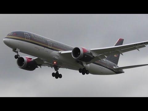 1hour+ of London Heathrow Plane Spotting | Inc Air France 787 & Finnair A350