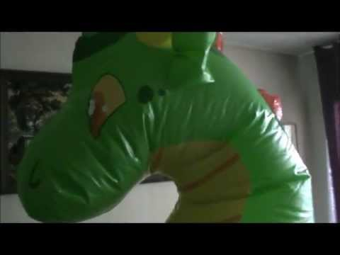 Inflatable Dragon IW Inflation
