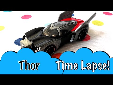 tl-hot-wheels-thor-by-marvel-toy-car-collectible-avengers-super-hero-toy-diecast-car