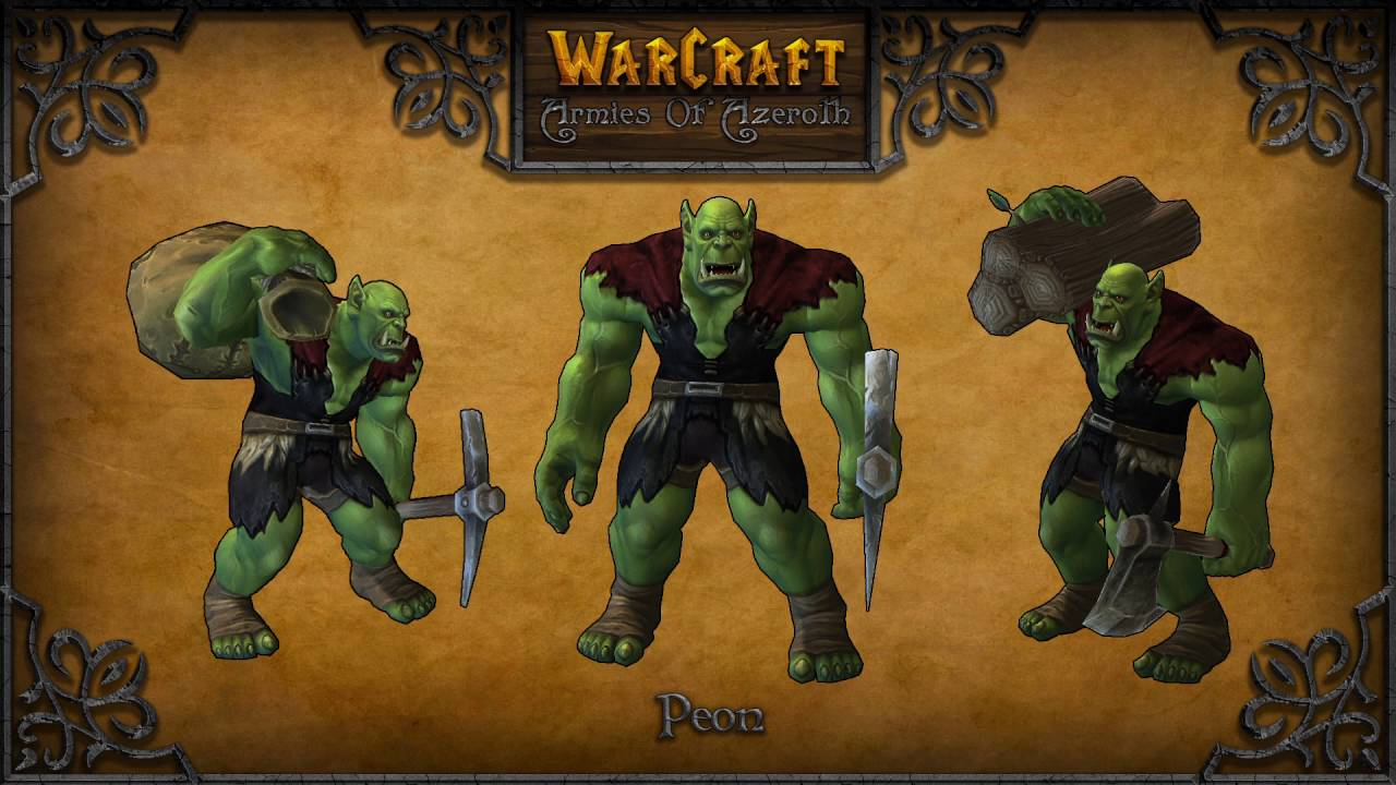 Work Work Orc Peon 10 Hours Warcraft World Of Warcraft Wow