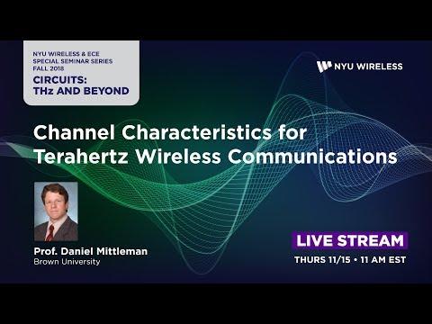 Channel Characteristics For Terahertz Wireless Communications