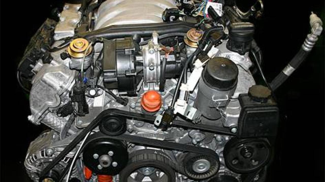 мерседес 112 мотор передняя крышка