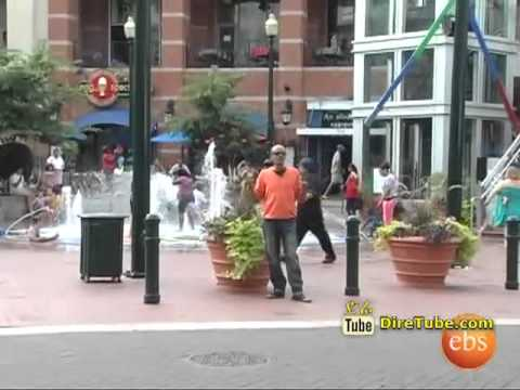 Life in America   Silver Spring Downtown with Ethiopians   Part 1