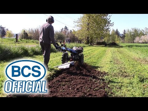 Breaking New Ground With BCS 750 And Rotary Plow