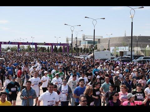 Bakı Marafonu 2018-AZTV-reportaj