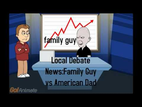 Family Guy And American Dad Comparison Saturday Debate...