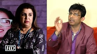 krk criticizes farah khan for giving flops and you can t miss it